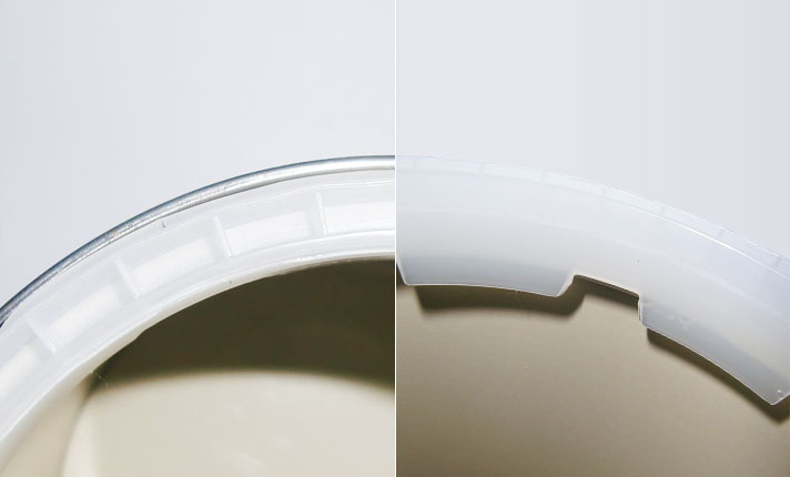 No-waste rim