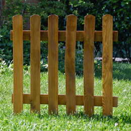 How to create a stained effect on your wooden fence