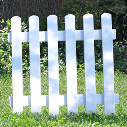 How to create an enamelled effect on your wooden fence