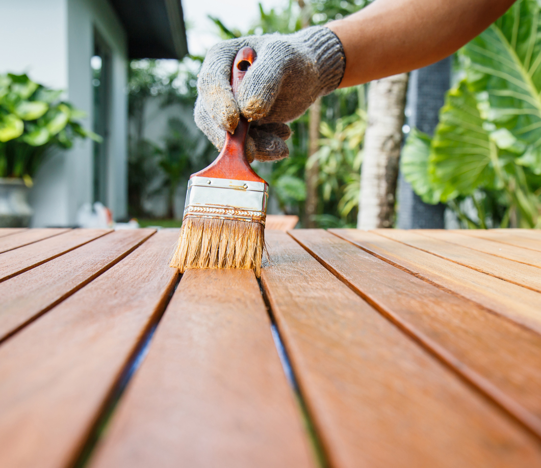 How to paint your decking